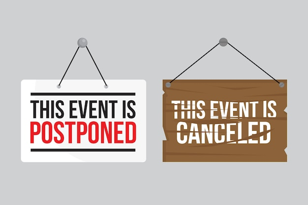 Postponed sign collection concept