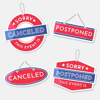 Postponed sign collection template