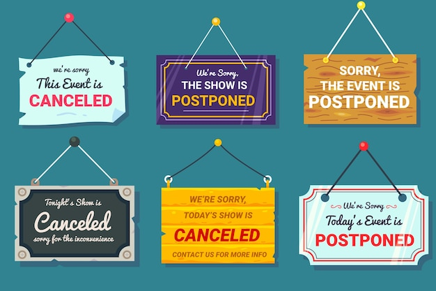 Postponed sign collection