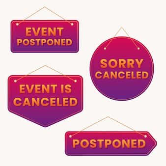 Postponed stamp pack
