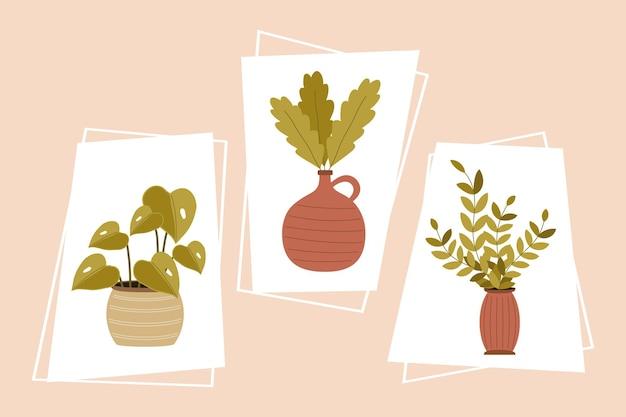 Pot plants nature