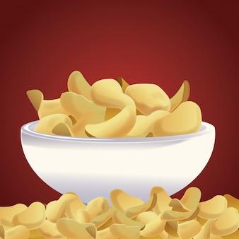 Potato chips snacks