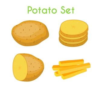 Potatoes set