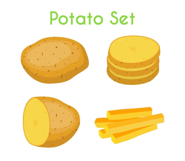 Potatoes set