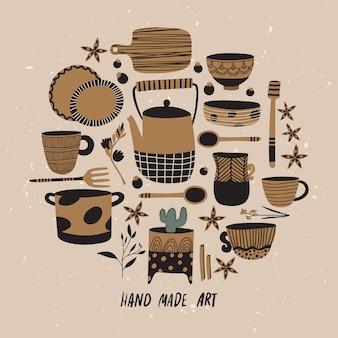 Набор керамики и керамики