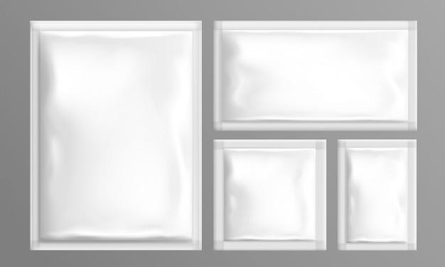 Pouch foil paper bags set