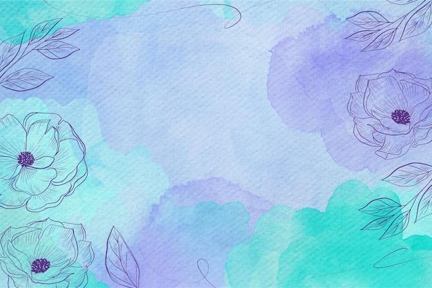 Powder pastel background style