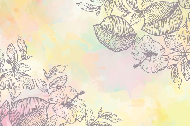 Powder pastel background