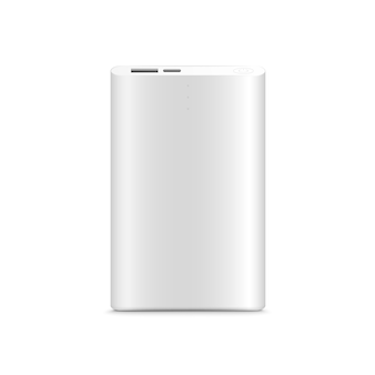 Power bank  isolated on white background.realistic.