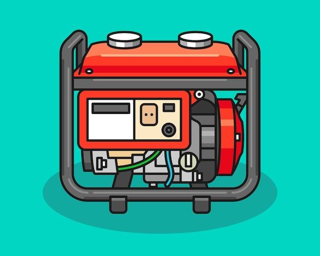 Иллюстрация машины генератора энергии