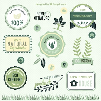 Power of nature labels