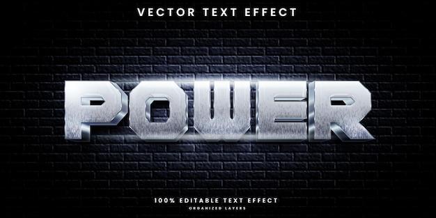 Power text effect