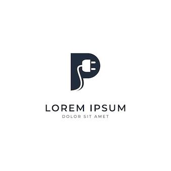 Шаблон логотипа power
