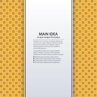 노란색 디자인의 파워 포인트 프레젠테이션