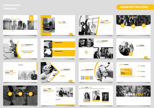 Шаблон бизнес-презентации powerpoint