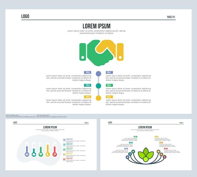 Сравнительный термометр, цветочный, набор слайдов презентаций и шаблон powerpoint