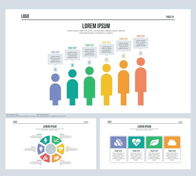 Сфера человеческого слайда представления и шаблон powerpoint