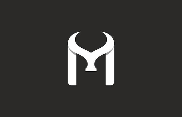 Логотип pp или m bull