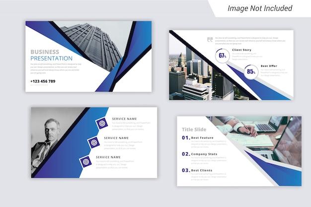 Шаблон бизнес-презентации (ppt) с уникальным стилем.