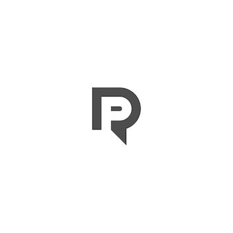 Pr負のスペースロゴ文字