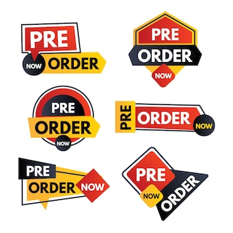 Pre-order label collection
