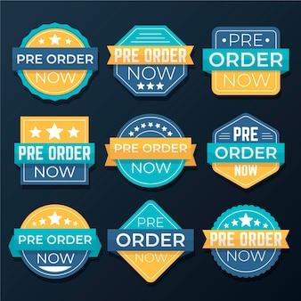 Pre-order labels pack