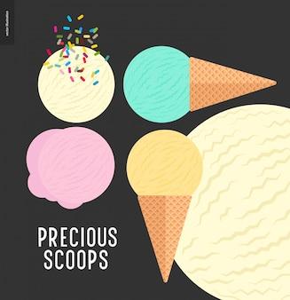 Precious scoops