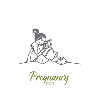 Иллюстрация концепции беременности