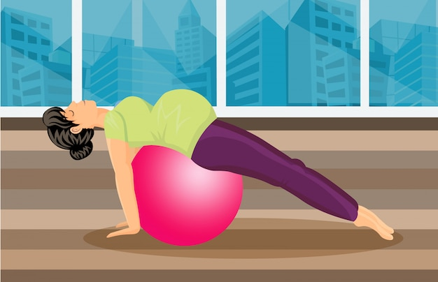 Pregnancy pilates training