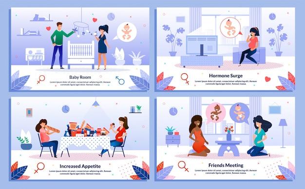 임산부 라이프 스타일, 건강 포스터
