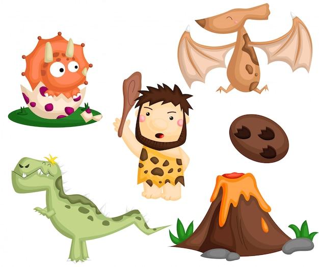 Prehistoric image set