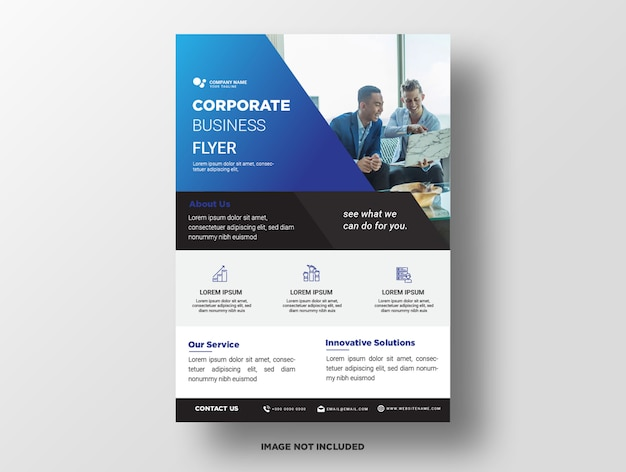 Premium business flyer template