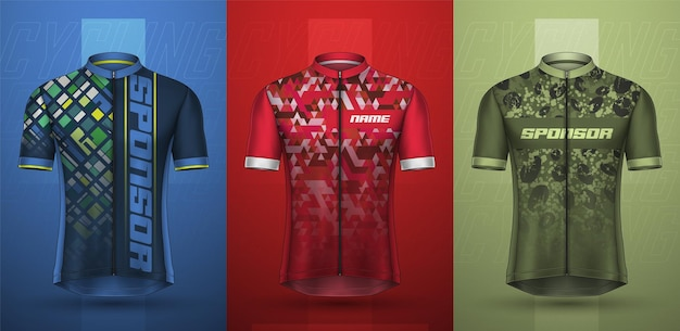 Premium collection of cycling jersey