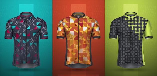 サイクリングジャージのプレミアムコレクション
