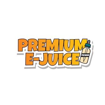 Premium e-juice personal vaporizer e-cigarette liquid