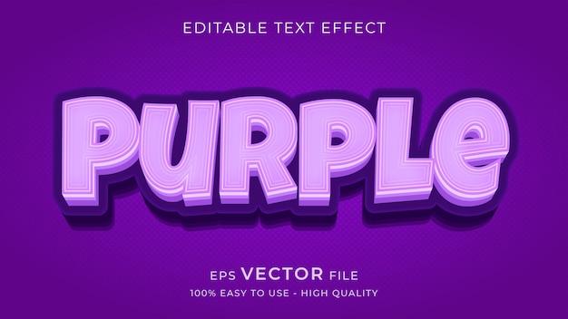 Премиум редактируемый текстовый эффект