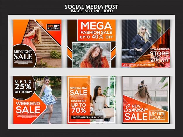 Premium fashion instagram stories template