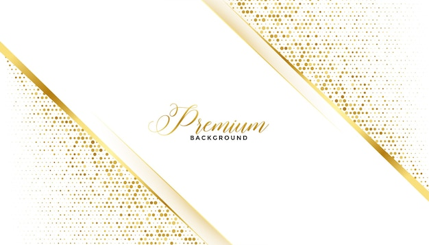 Premium golden glitter background royal design