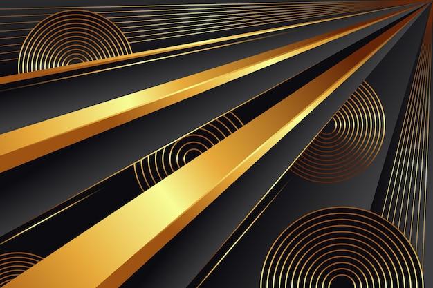 Sfondo di lusso dorato premium