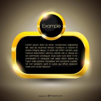 Premio golden template