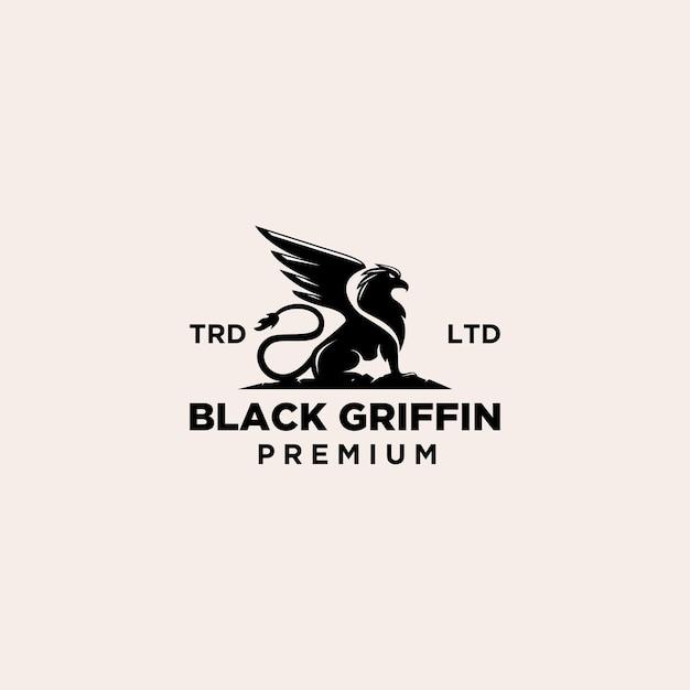 Premium griffin vintage logo