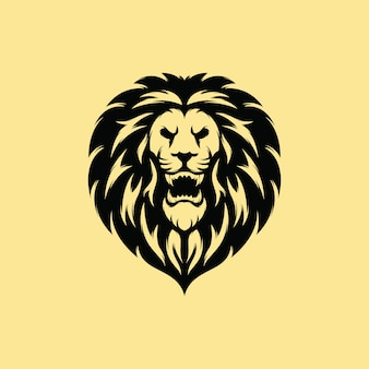 Premium lion logo design