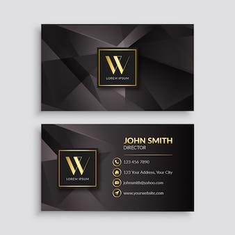 Premium luxury business card design