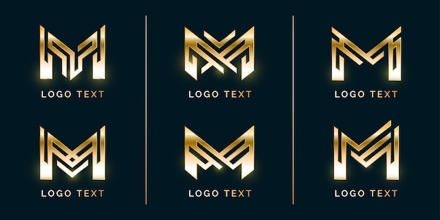 Набор с логотипом premium modern m
