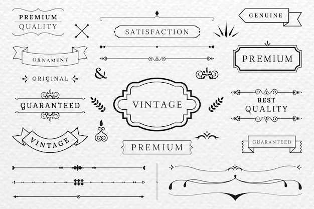 Vintage Vectors, Photos and PSD files | Free Download