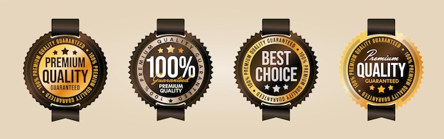 Premium quality and best choice product label