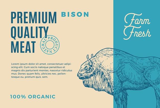 Premium quality buffalo