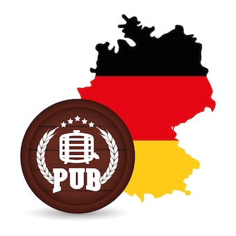 Premium quality german beer