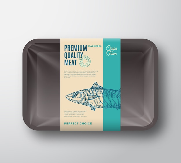 Premium quality mackerel pack.