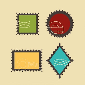 Premium quality stamp set